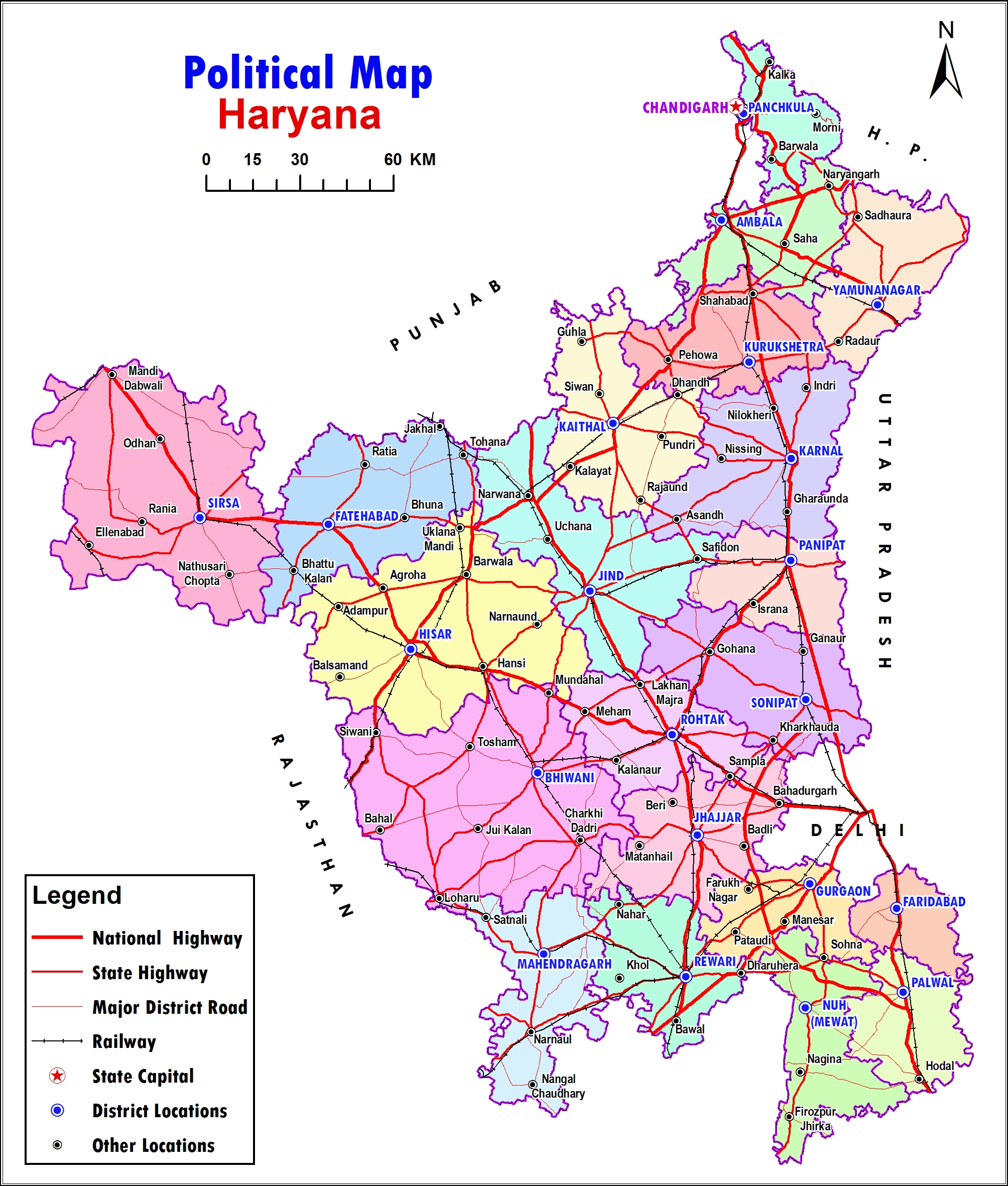 Application Site Map: HARYANA SPACE APPLICATIONS CENTRE : Site Map